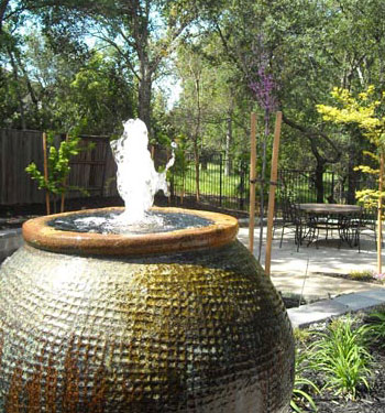 Landscape Design with Water Features